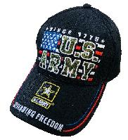 Licensed US Army Ball Cap [Block Flag]
